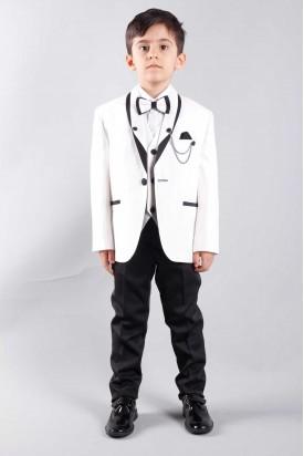 Beyaz Çocuk Takım Elbise Damatlık