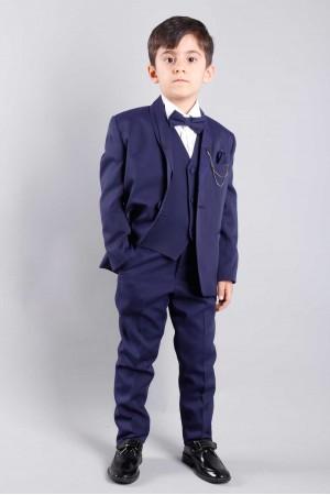 Lacivert Çocuk Takım Elbise Damatlık