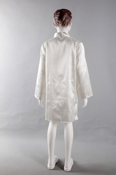Uzun Krem Sünnet Gömleği