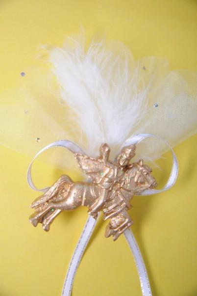 Altın Atlı Biblolu Sünnet Şekeri