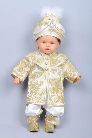 Boncuklu Bebek Altın Sünnet Takımı