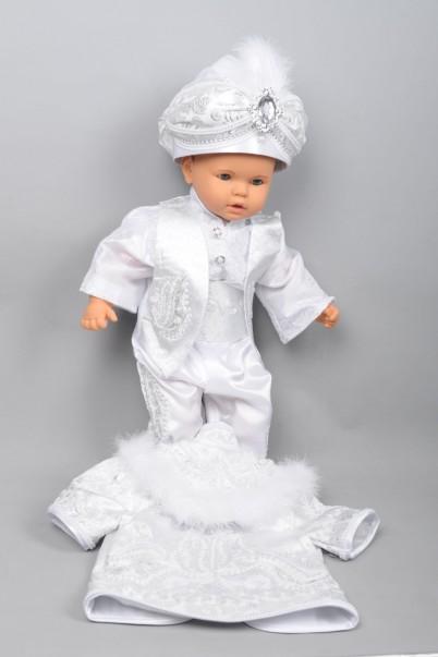 Hünkar Bebek Beyaz Sünnet Takımı