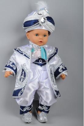 Sadrazam Bebek Beyaz Lacivert Sünnet Takımı